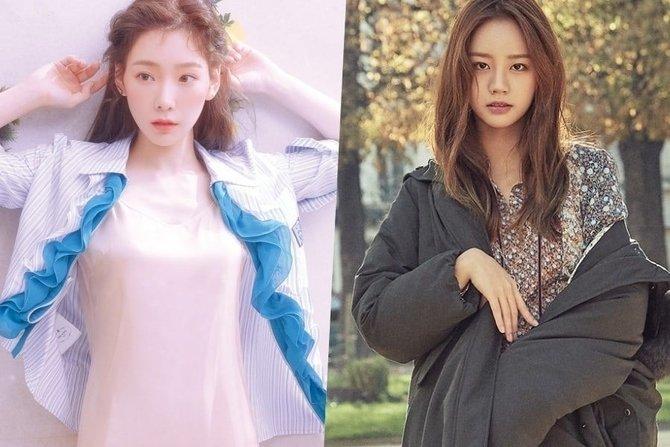 Unggah Foto Selfie Bersama, Tae Yeon SNSD Dan Hyeri Girl's Day Ternyata Berteman Dekat